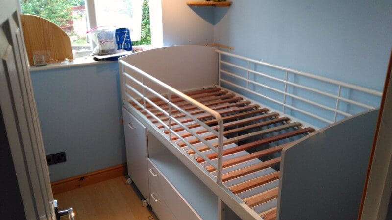 Childs Twin Cabin Bed