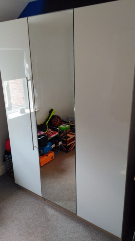 3 Door Wardrobe and Chest of Drawers