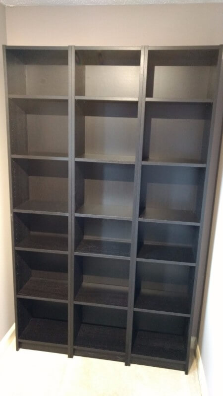 Large IKEA Bookshelves