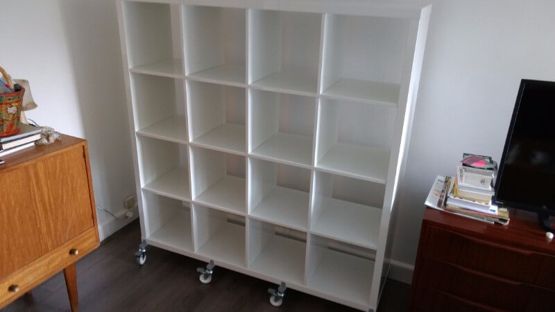 Big Billy Bookcases for an avid Bookreader