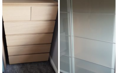 6 Drawer IKEA Malm Chest of Drawers Flat Pack Furniture Assembly in Daybrook, Nottingham
