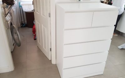 IKEA Malm 6 Drawer Chest Flat Pack Assembly in Edwalton Nottingham
